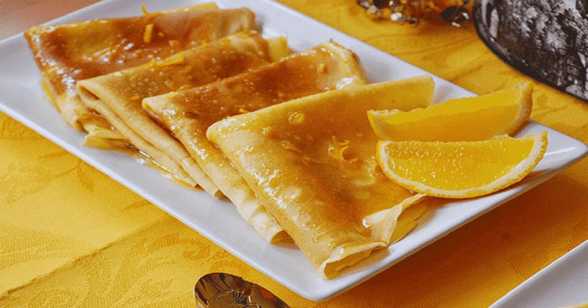 Crepes de naranja