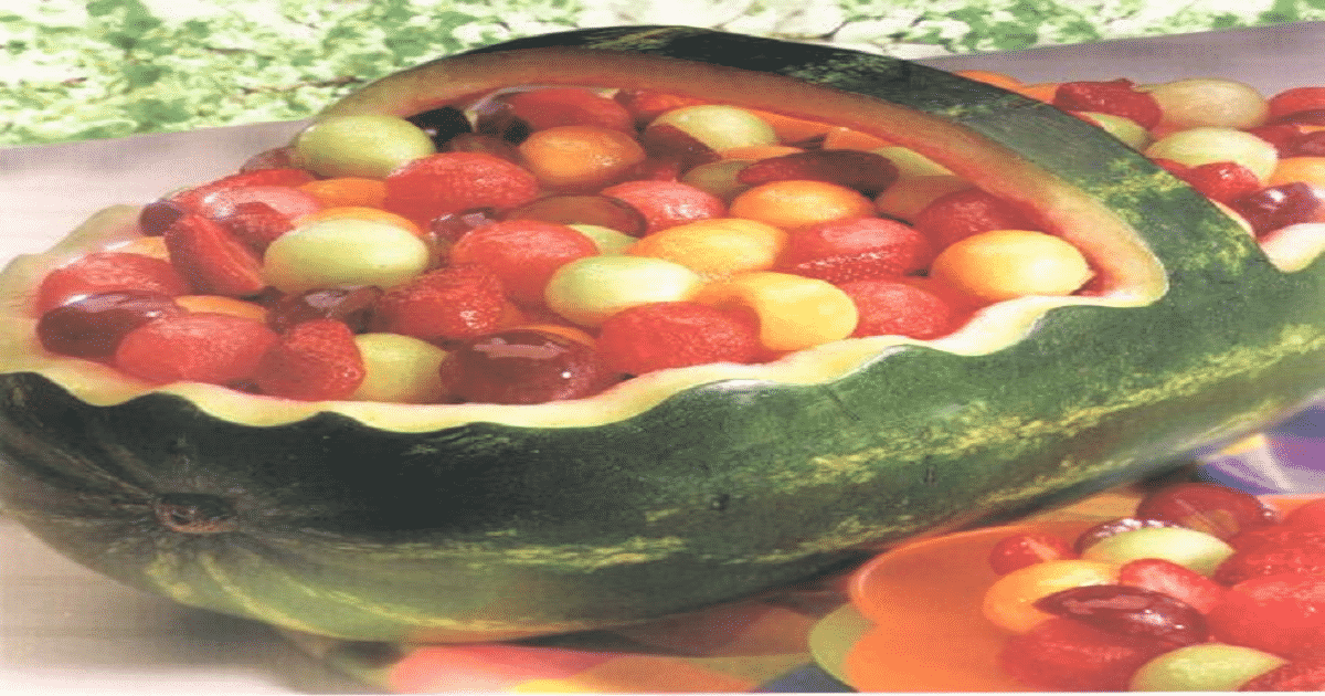 Frutas a la criolla