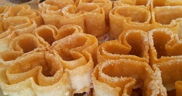Rosas fritas