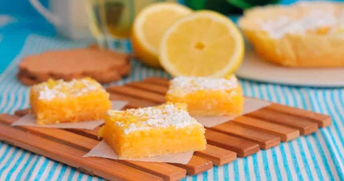 Postres Fácilles de Limón