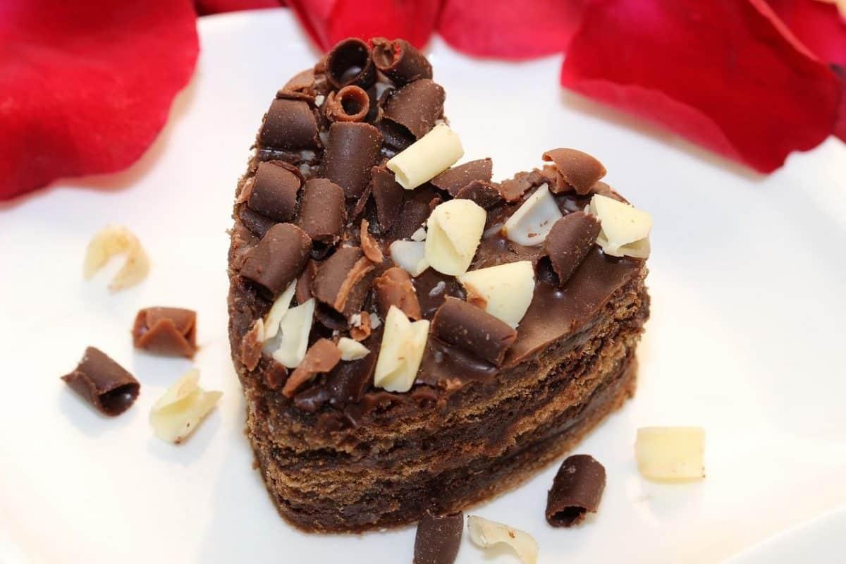 Torta o tarta de mousse de chocolate